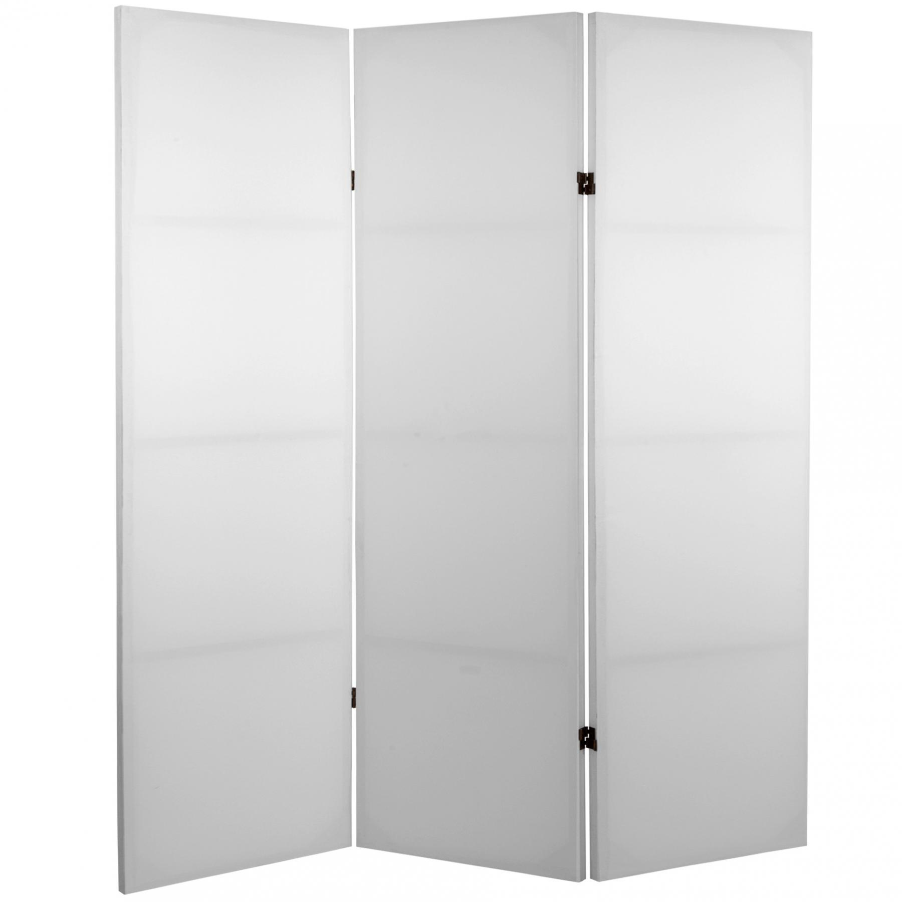 4 Ft Tall Do It Yourself Double Sided Canvas Room Divider