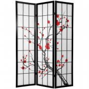 6 ft. Tall Cherry Blossom Shoji Screen - More Details