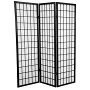 5 ft. Tall Window Pane Shoji Screen - More Details