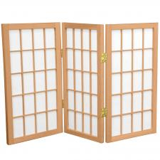 tall desktop window pane shoji screen