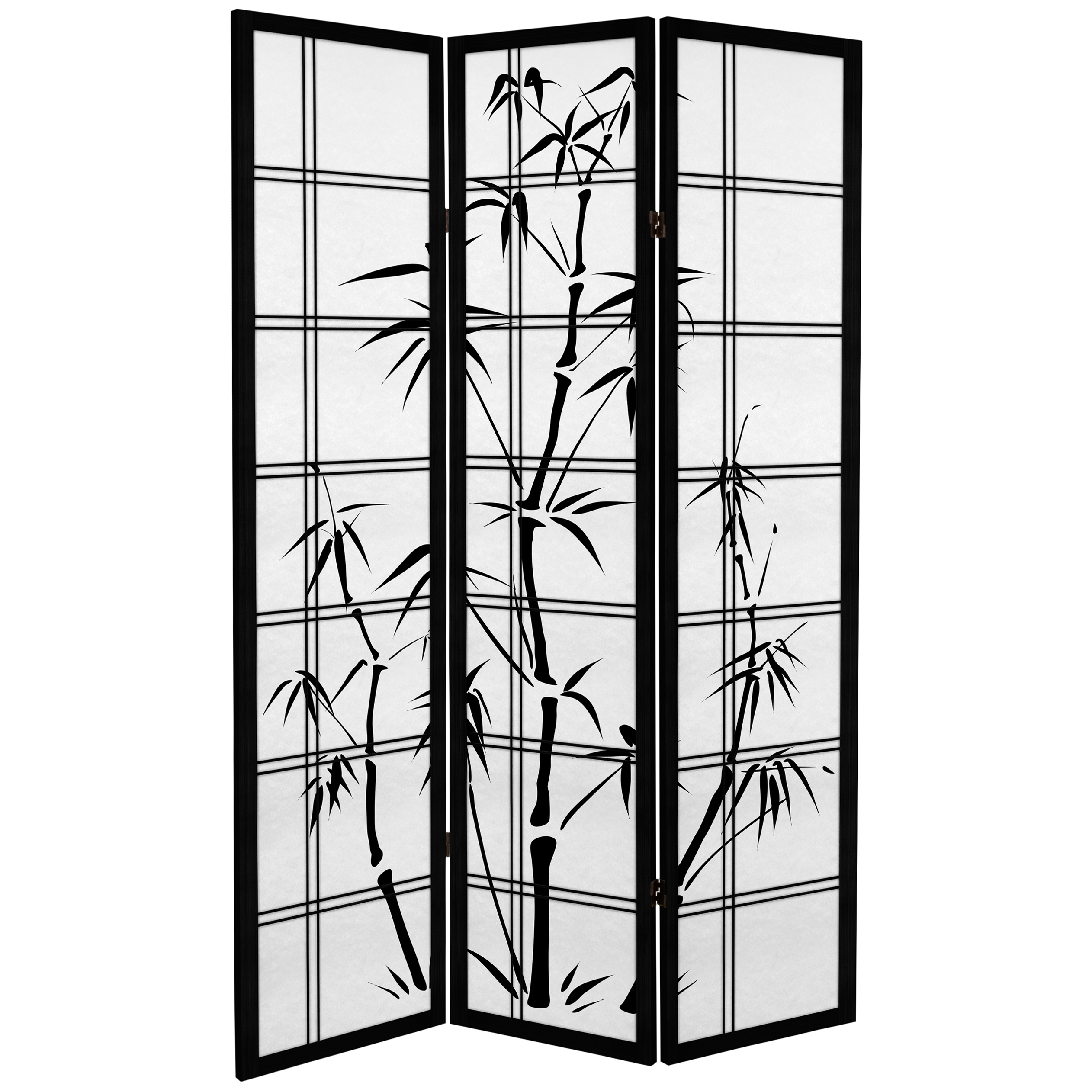 Buy 6 Ft Tall Canvas Bamboo Tree Room Divider Online Can