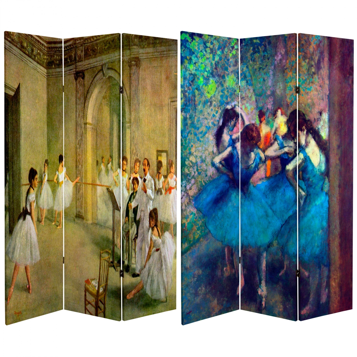 Buy 6 ft Tall Works of Degas Room Divider Dancers Online CAN