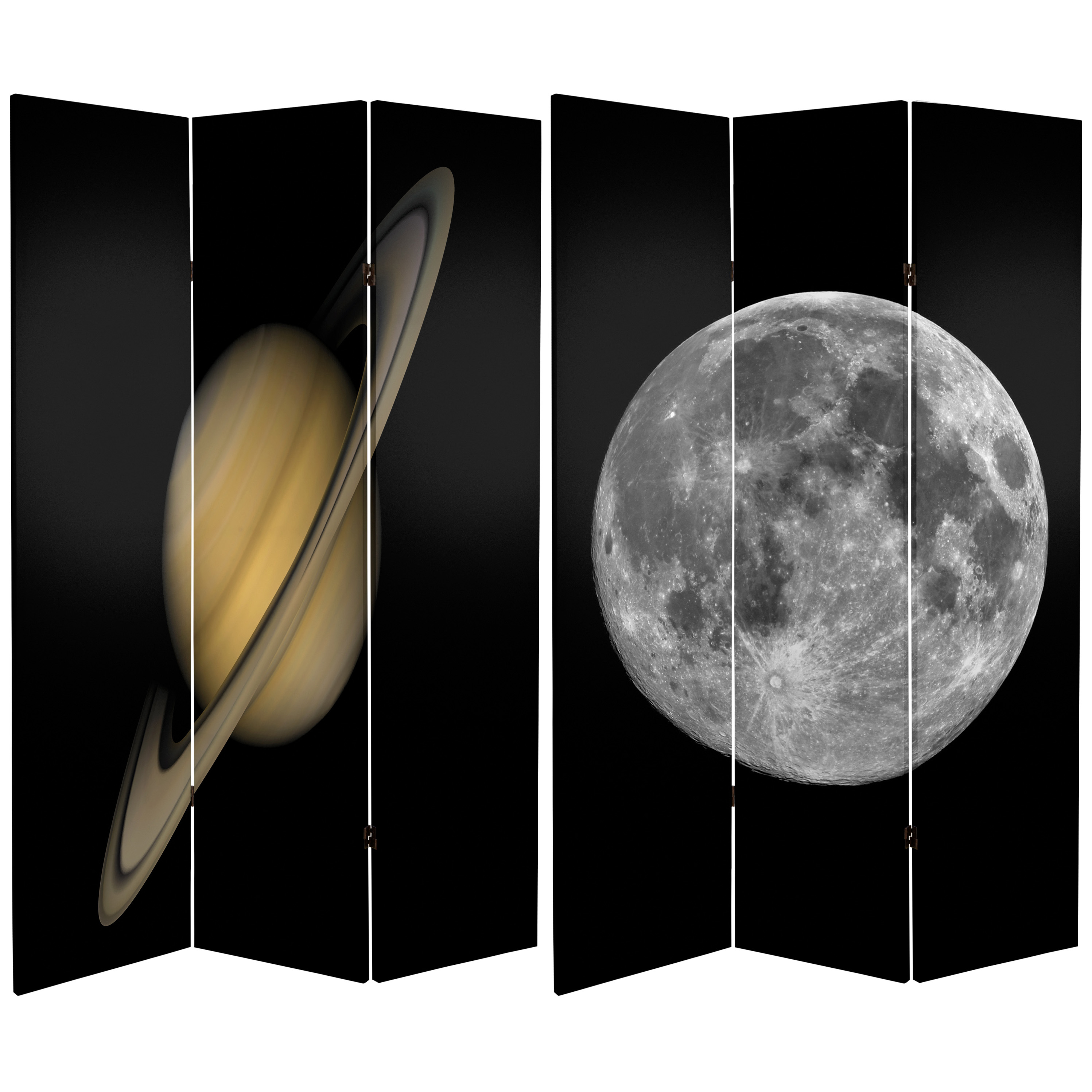 Buy 6 Ft Tall Moon Saturn Room Divider Online Can Moon1