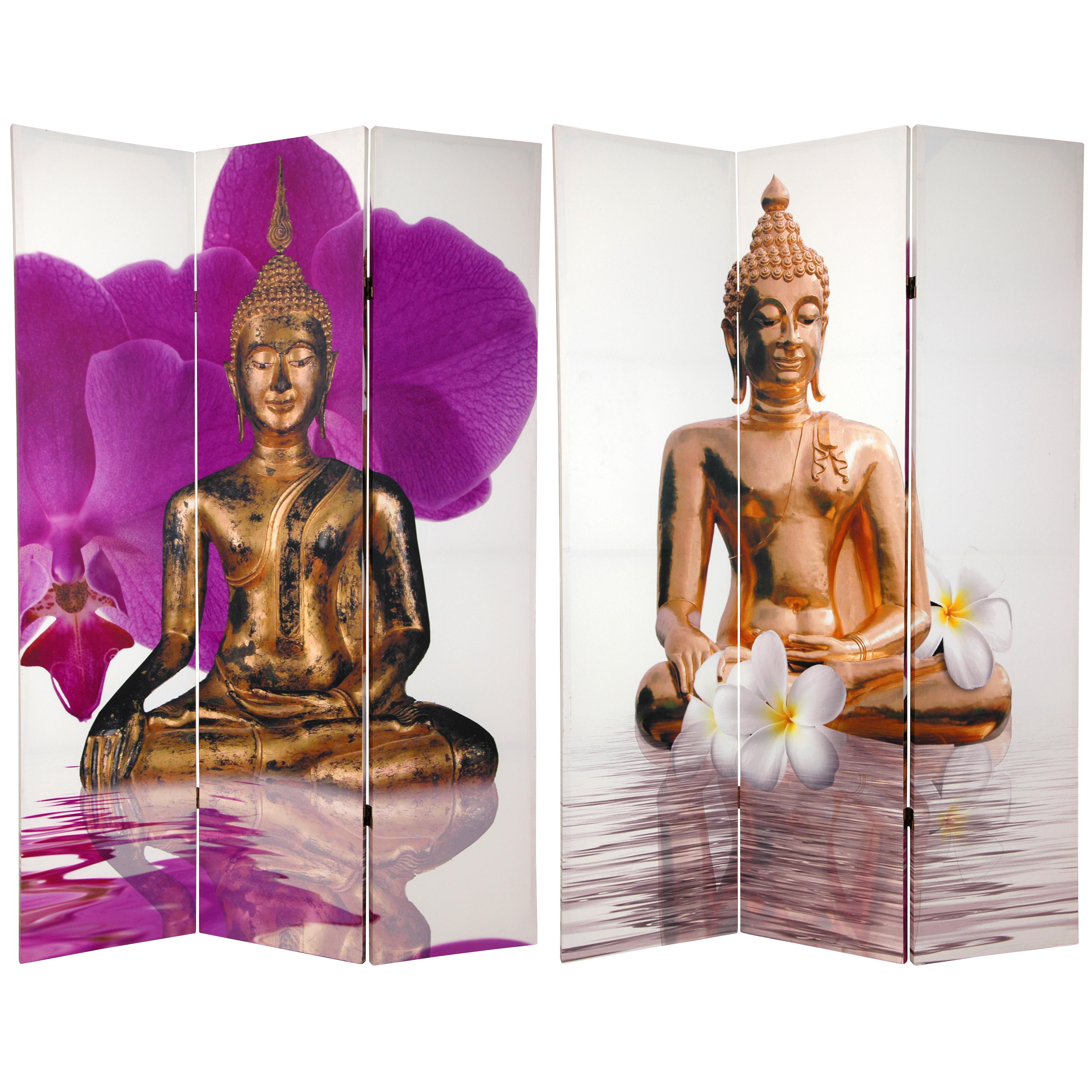 Buy 6 Ft Tall Double Sided Thai Buddha Room Divider