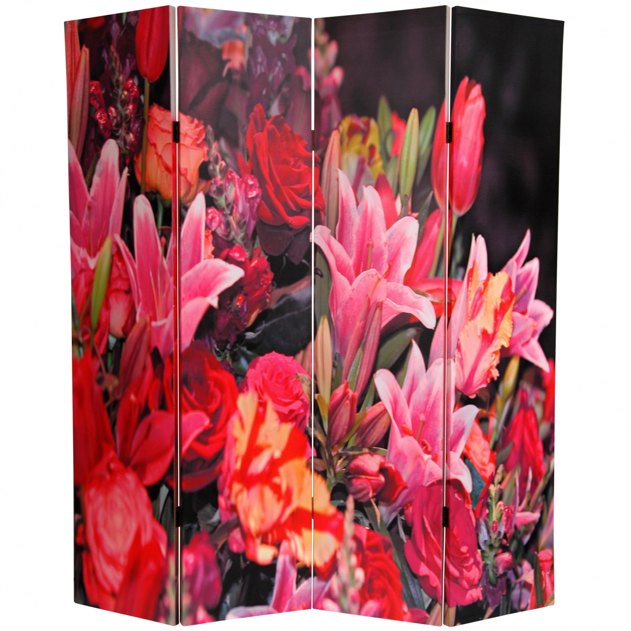 Buy 6 Ft Tall Spring Flowers Canvas Room Divider Online Can Tulip