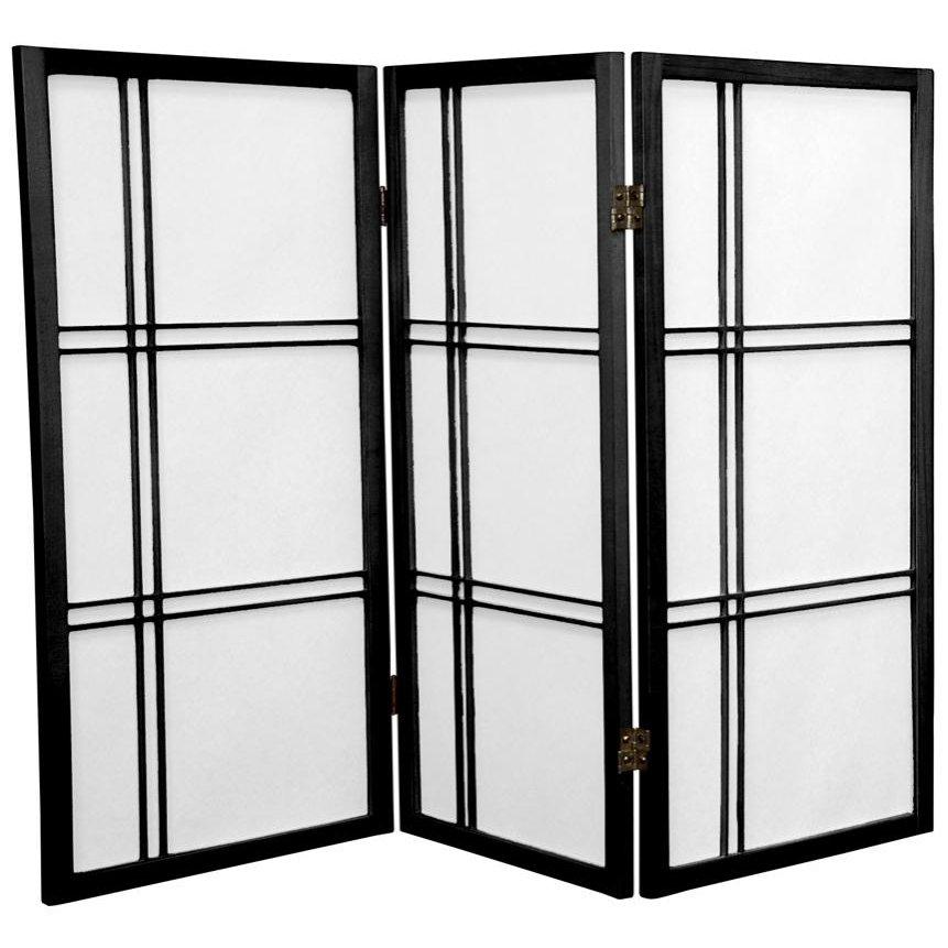 Buy 3 Ft Tall Double Cross Shoji Screen Online Dc36