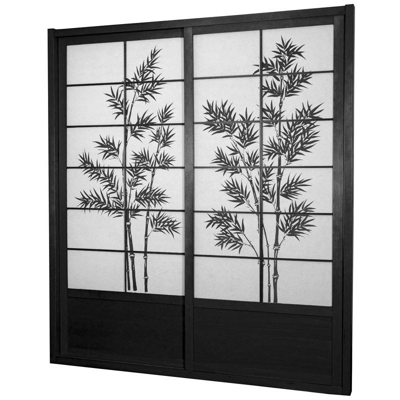 Buy 7 ft Tall Bamboo Tree Shoji Sliding Door Kit Online DOOR