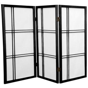 Tall Double Cross Shoji Screen