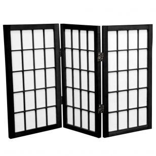 Tall Desktop Window Pane Shoji Screen