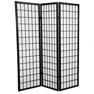 Tall Window Pane Shoji Screen