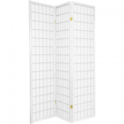 6 Ft Tall Window Pane Shoji Screen